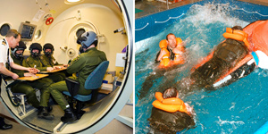 Hypoxia and Sea Survival Training